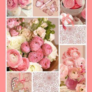 цвет Розовый пэчворк